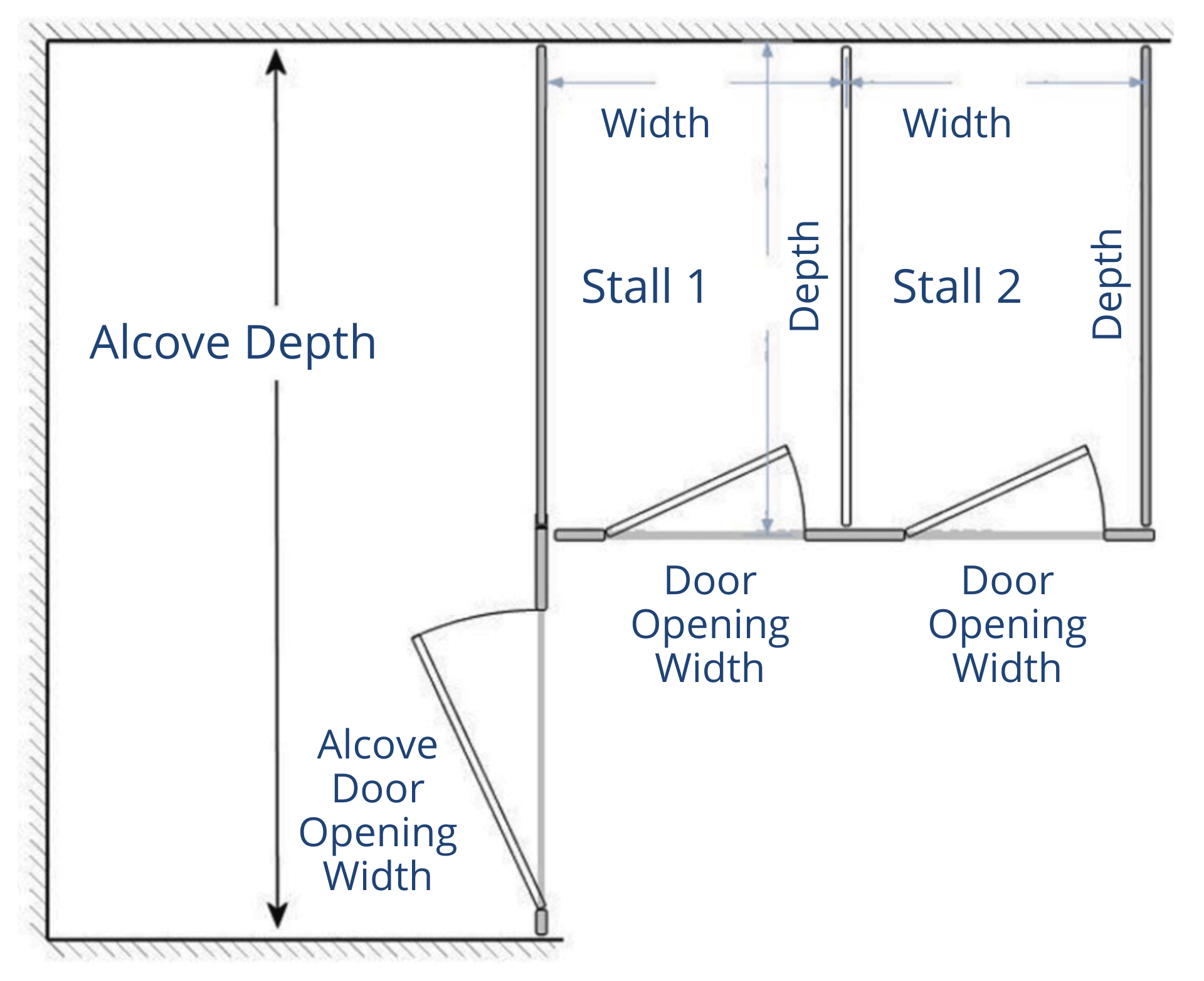 Alcove plus 2 Diagram